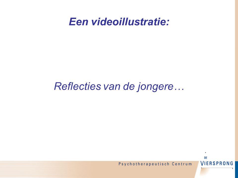 Een videoillustratie: Reflecties van de jongere…