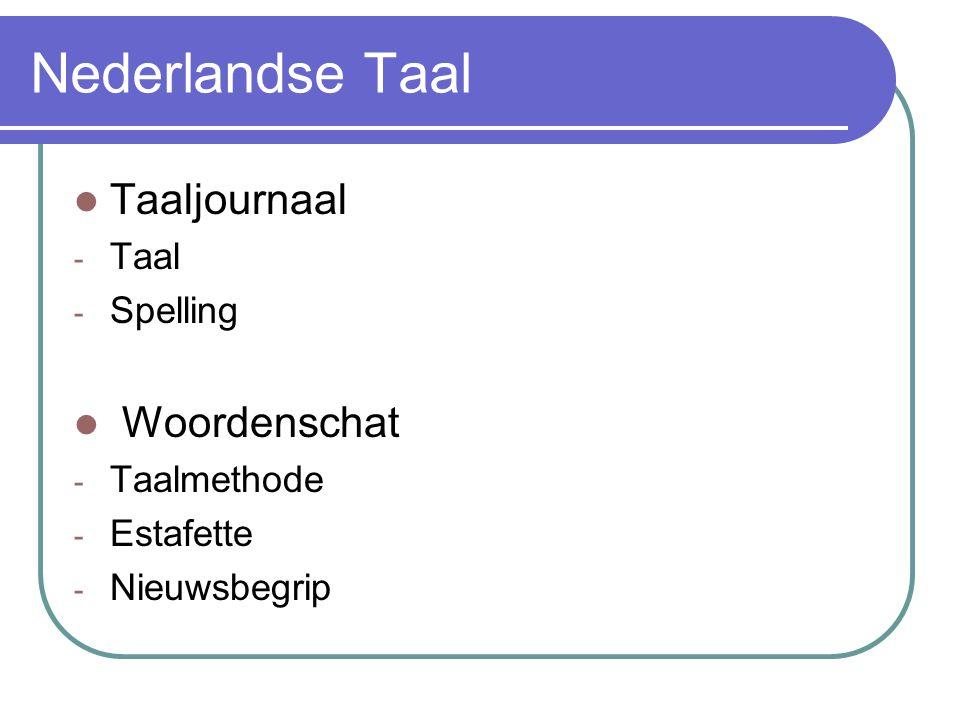 Nederlandse Taal Taaljournaal - Taal - Spelling Woordenschat - Taalmethode - Estafette - Nieuwsbegrip