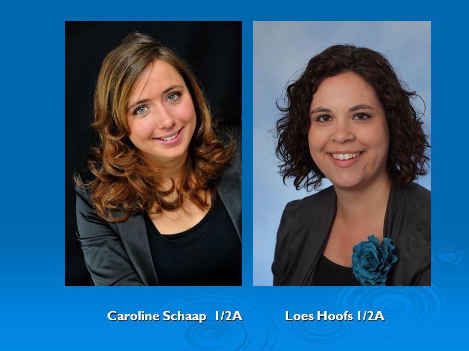 Caroline Schaap 1/2A Loes Hoofs 1/2A