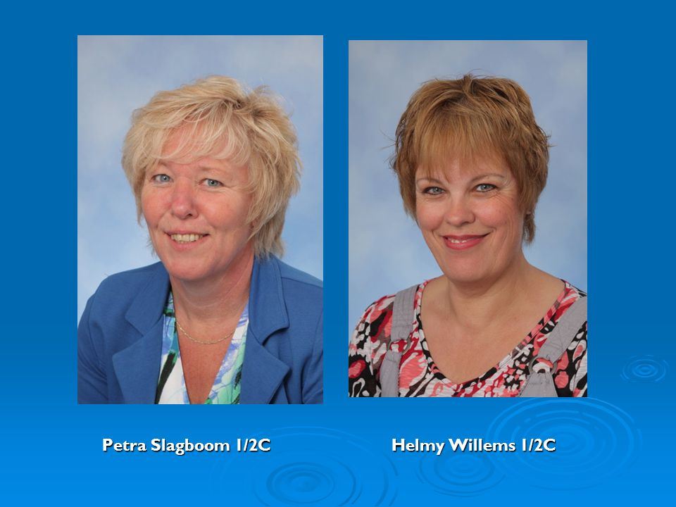 Petra Slagboom 1/2C Helmy Willems 1/2C