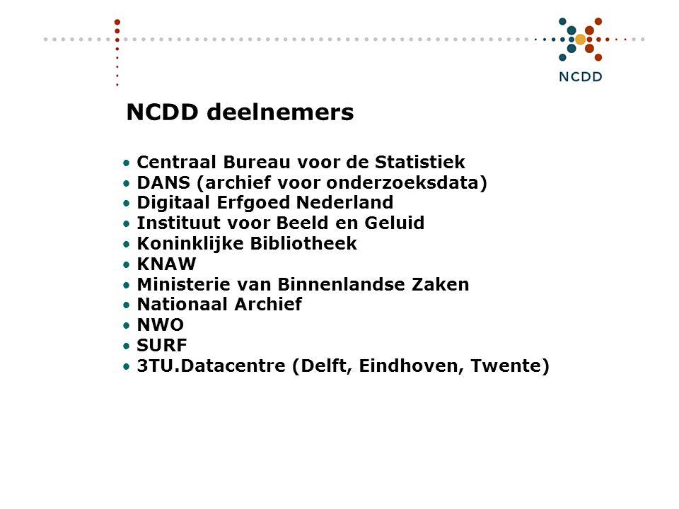 Digitale duurzaamheid - INHOLLAND 17 juni 2008 10 Nationale Verkenning Digitale Duurzaamheid Wie bewaart wat.