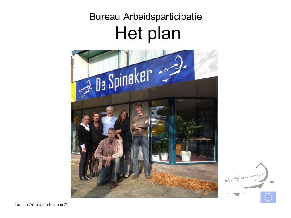 Bureau Arbeidsparticipatie Het plan Bureau Arbeidsparticipatie ©
