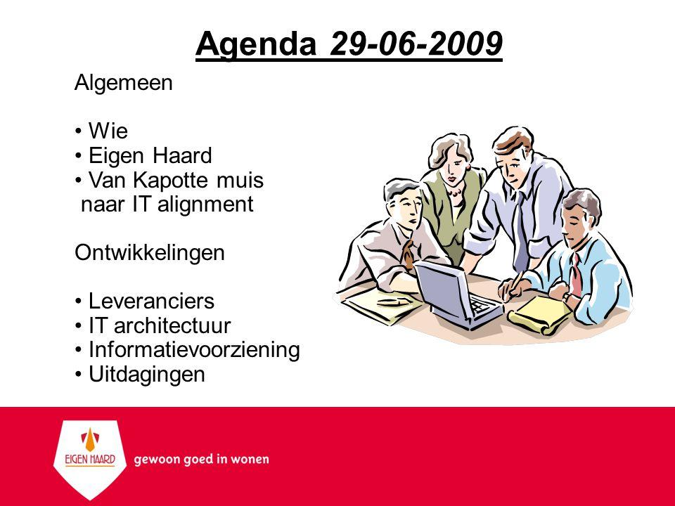 Wie Bart Hoogervorst Werkzaam in corporatieland vanaf 2004 Hoofd ICT -> Manager ICT&Facilities (+projecten, inkoop) Daarvoor in AZ s (WO, IT, leiding) Technische achtergrond, nu meer bedrijfskundig