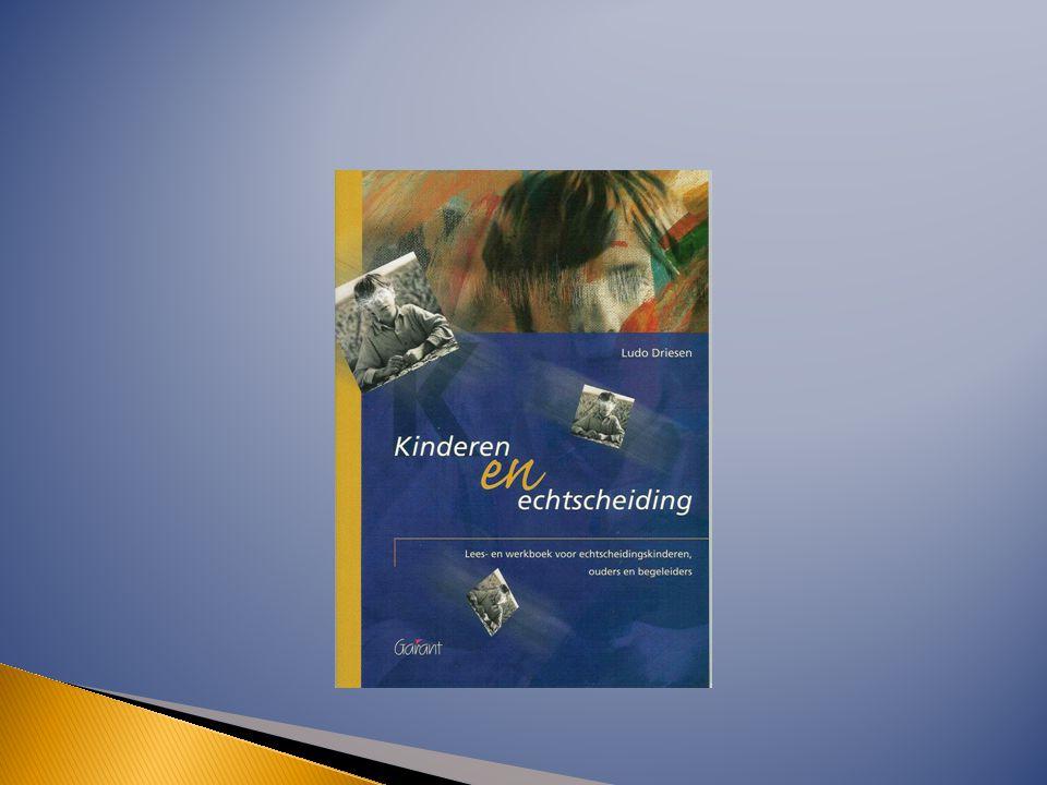  Lees- en werkboek voor echtscheidingskinderen, ouders en begeleiders