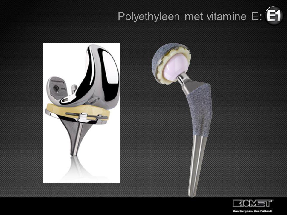 Polyethyleen met vitamine E: