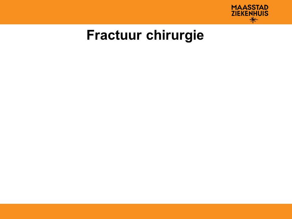 Fractuur chirurgie