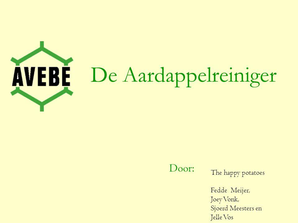 De Aardappelreiniger Door: The happy potatoes Fedde Meijer, Joey Vonk, Sjoerd Meesters en Jelle Vos