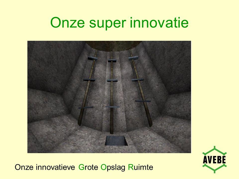 Onze super innovatie Onze innovatieve Grote Opslag Ruimte