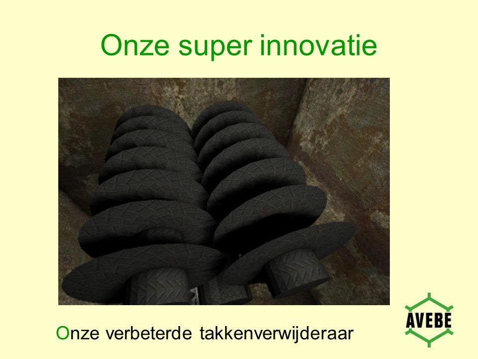 Onze super innovatie Onze verbeterde takkenverwijderaar