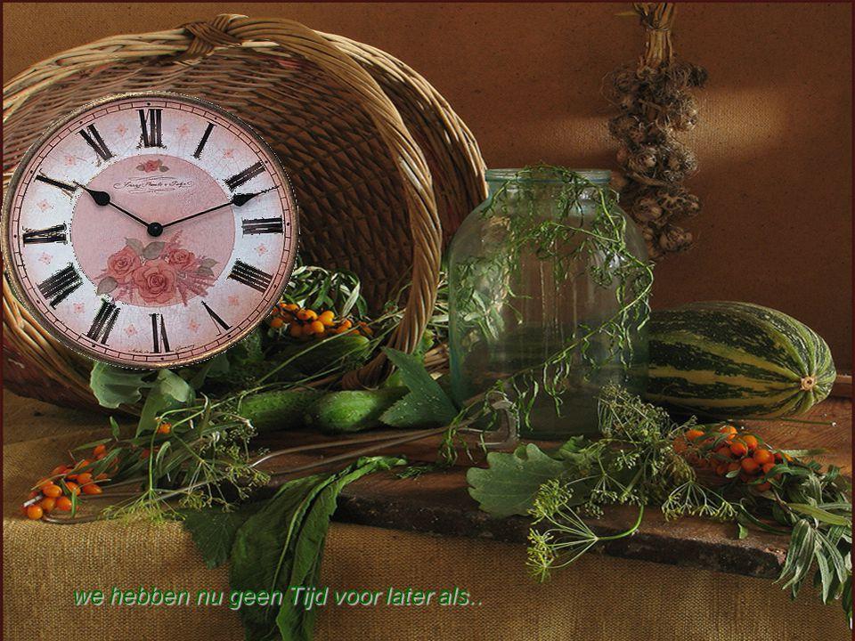 Tijd is tijdloos