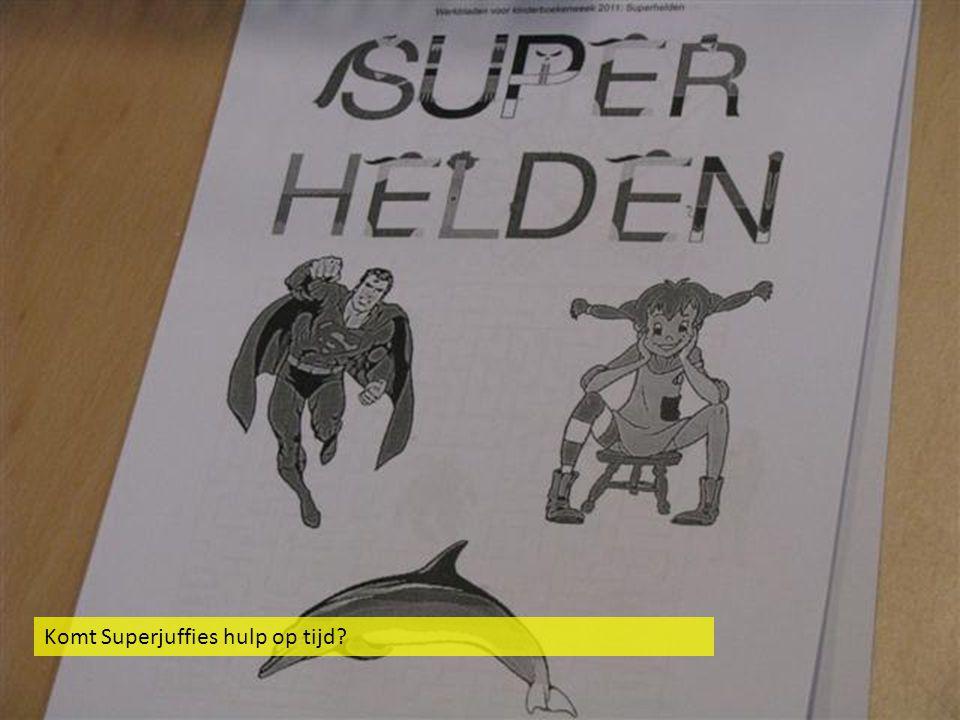Komt Superjuffies hulp op tijd