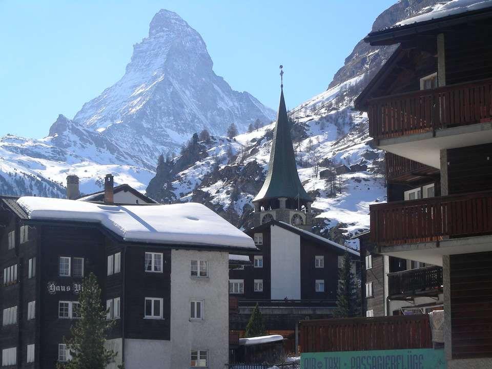 De Matterhorn werd voor het eerst « overwonnen » op 14 juli 1865 door de Engelsman Edward Whymper.