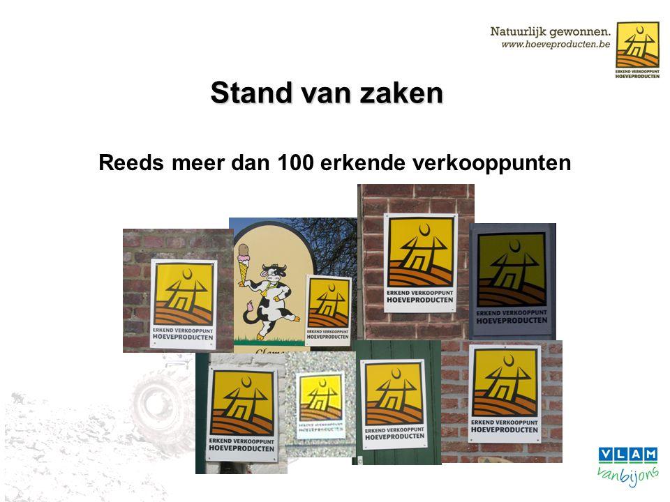 Doelstelling Doel –Vooral: vaste klanten meer laten kopen –2de instantie: nieuwe klanten aantrekken –2006: 250 verkooppunten –2007: 500 verkooppunten Waarom Label.