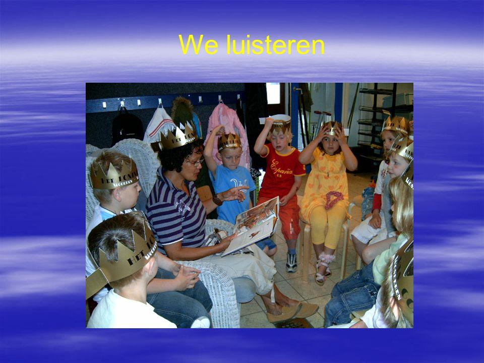 We luisteren