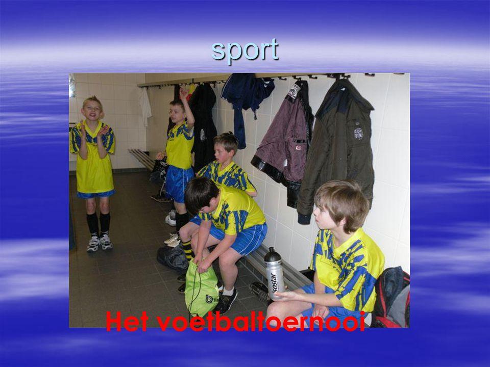 sport Het voetbaltoernooi