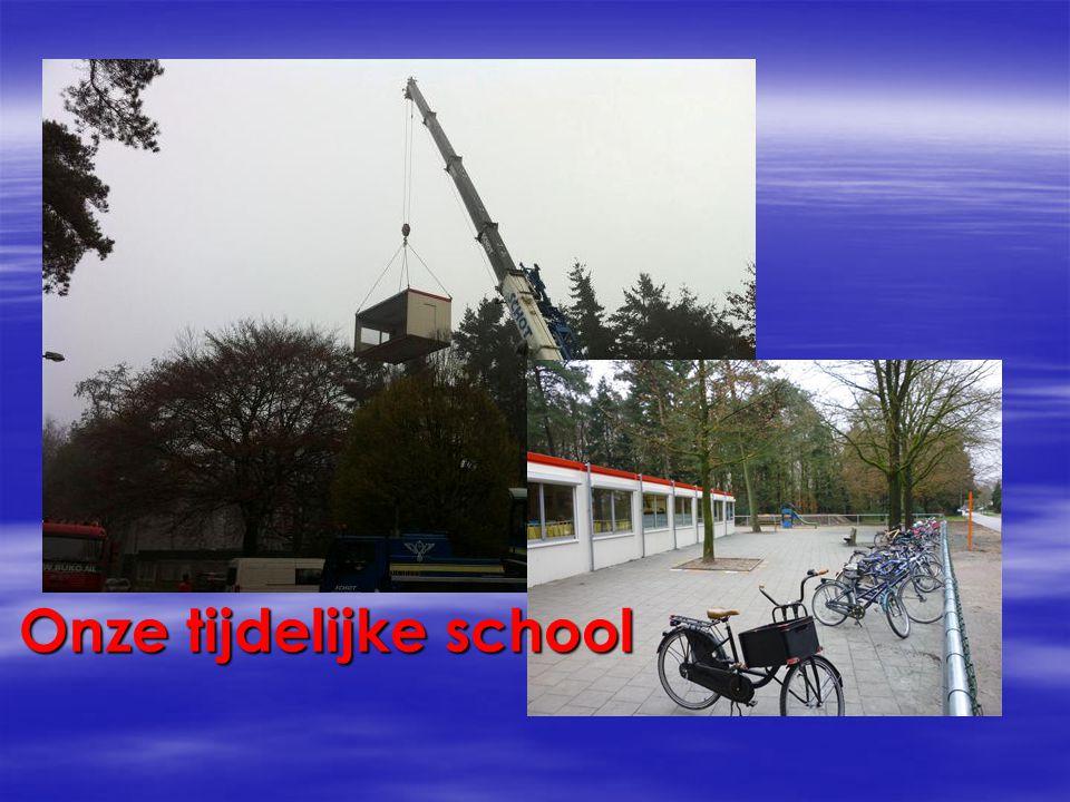 Onze tijdelijke school
