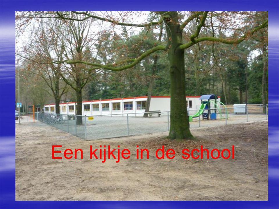 Een kijkje in de school