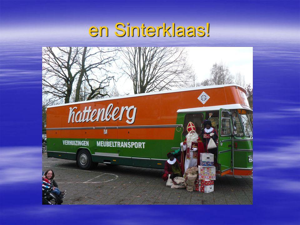 en Sinterklaas!