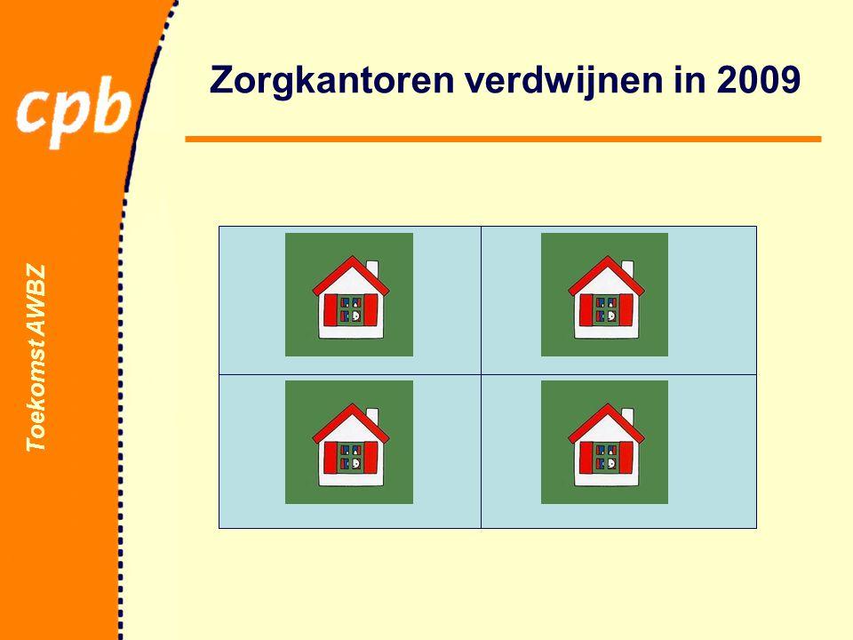 Toekomst AWBZ Zorgkantoren verdwijnen in 2009
