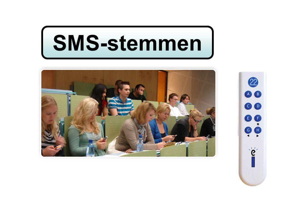 home Hoe werkt SMS2vote? De uitleg hierboven wordt ingevuld wanneer een sessie is gestart....