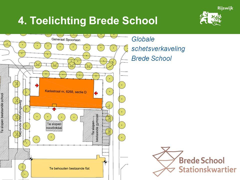 Globale schetsverkaveling Brede School