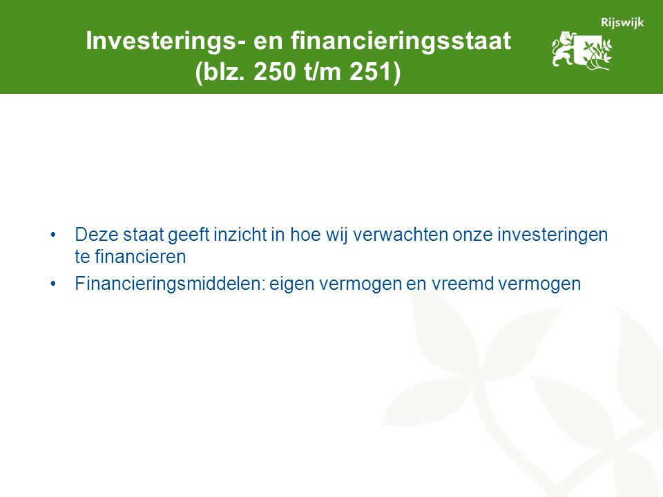 Investerings- en financieringsstaat (blz.