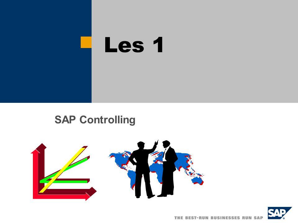Les 1 SAP Controlling