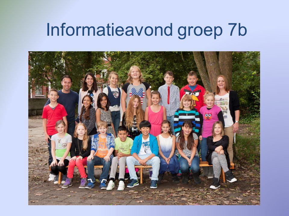 Informatieavond groep 7b