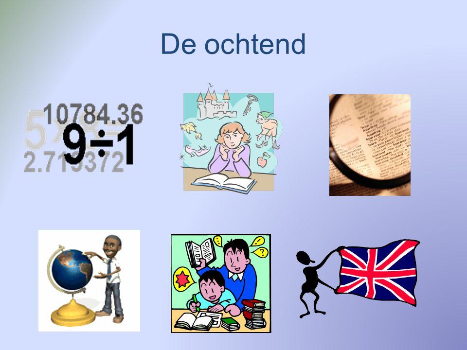 Voor de Pauze Rekenen Wereld in getallen Gezamenlijke start van de les > instructie Individuele verwerking / oefening van de stof met evt.