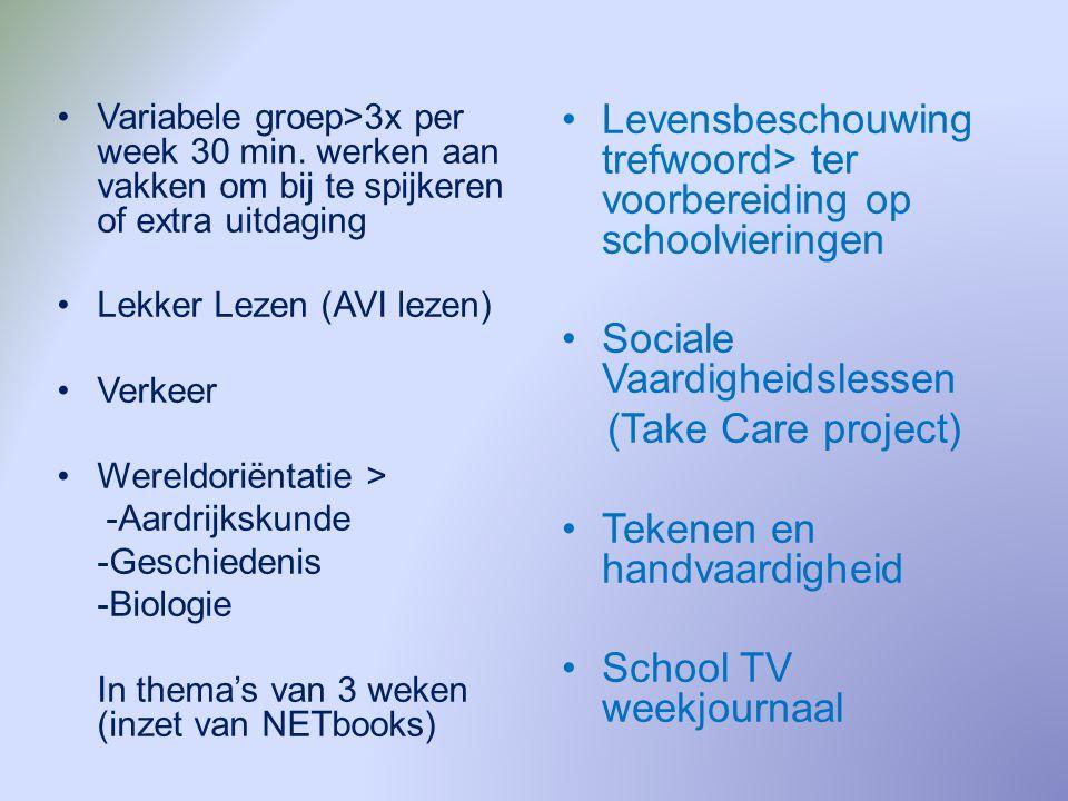Huiswerk Huiswerk > Bijna dagelijks: 1x in de 2 weken topografie toets (leerwerk) 1x in de 2 weken Engels toets (leerwerk) 1x per week werkblad rekenen/spelling (maakwerk) 2x werkstuk maken 1x spreekbeurt houden (PowerPoint) Agenda gebruik