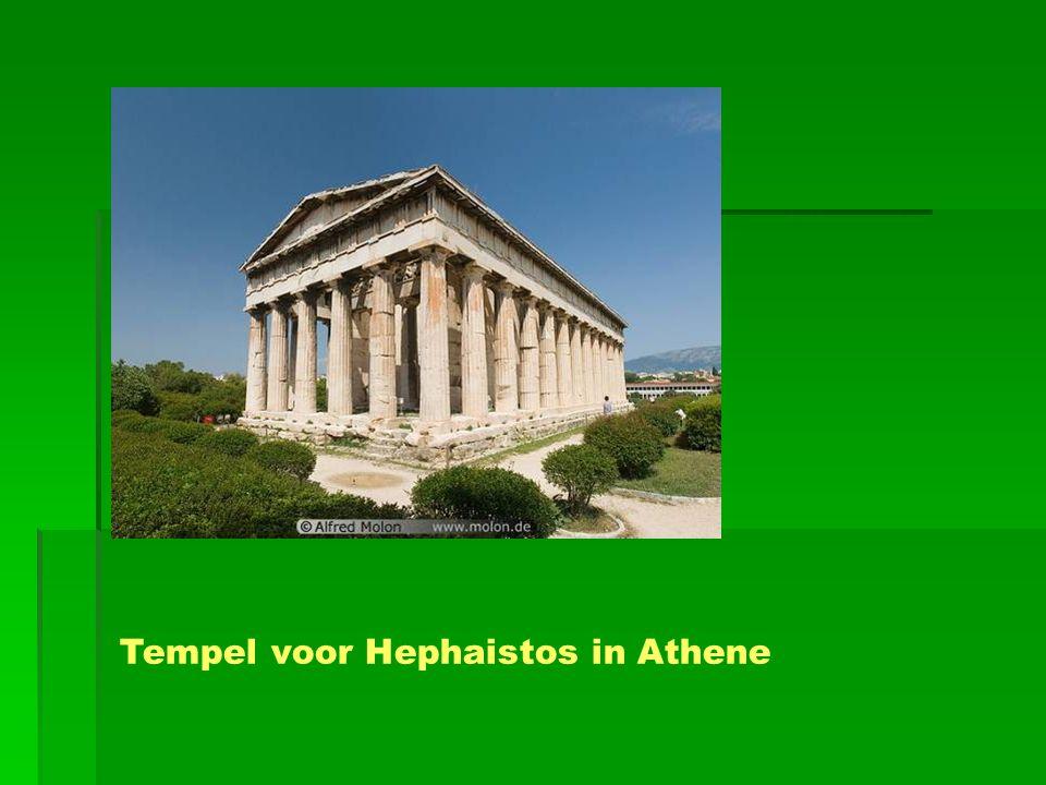 Tempel voor Hephaistos in Athene