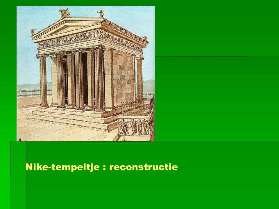 Nike-tempeltje : reconstructie