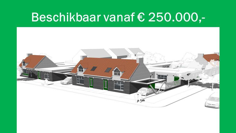 Beschikbaar vanaf € 250.000,-