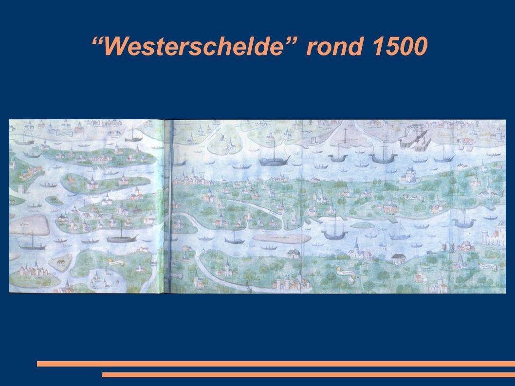 Westerschelde rond 1500