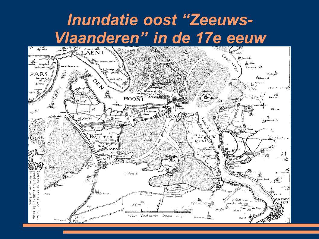 Inundatie oost Zeeuws- Vlaanderen in de 17e eeuw
