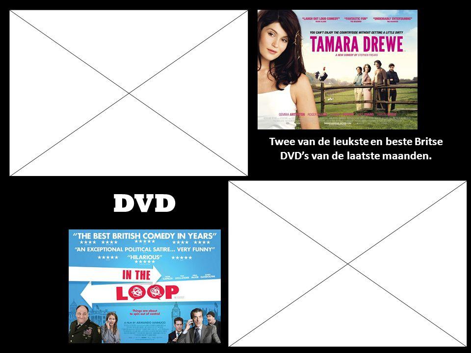 Twee van de leukste en beste Britse DVD's van de laatste maanden. DVD