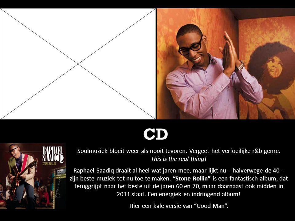 CD Soulmuziek bloeit weer als nooit tevoren. Vergeet het verfoeilijke r&b genre. This is the real thing! Raphael Saadiq draait al heel wat jaren mee,