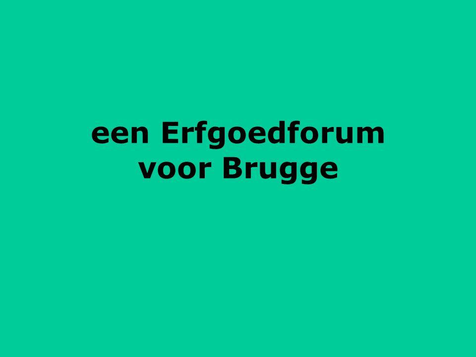 een Erfgoedforum voor Brugge