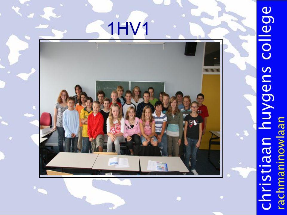 christiaan huygens college rachmaninowlaan 1HV1