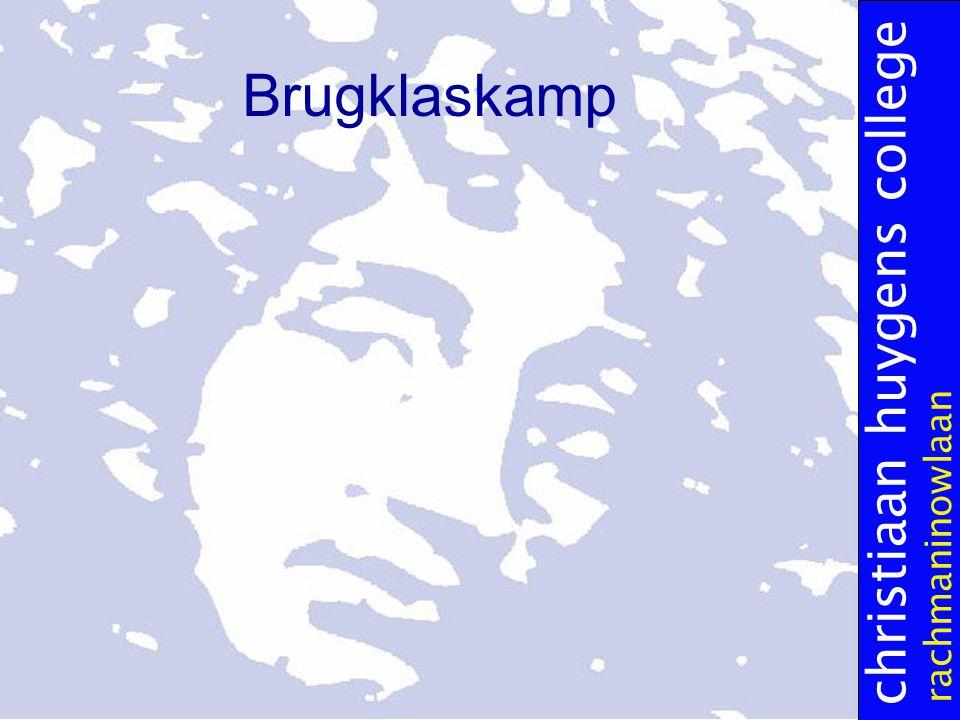 christiaan huygens college rachmaninowlaan Brugklaskamp