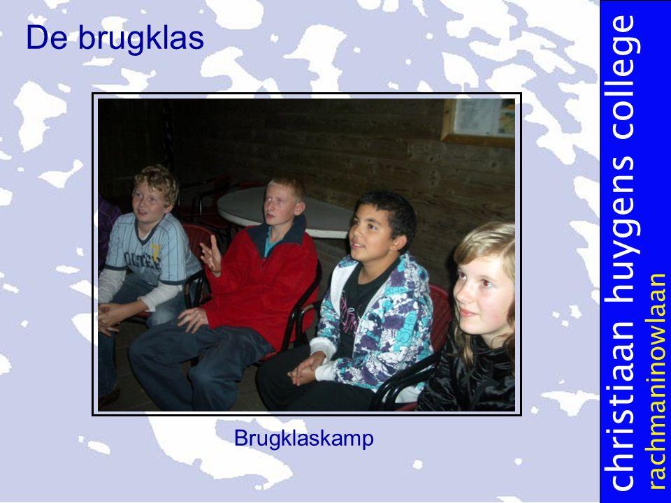 christiaan huygens college rachmaninowlaan De brugklas Brugklaskamp