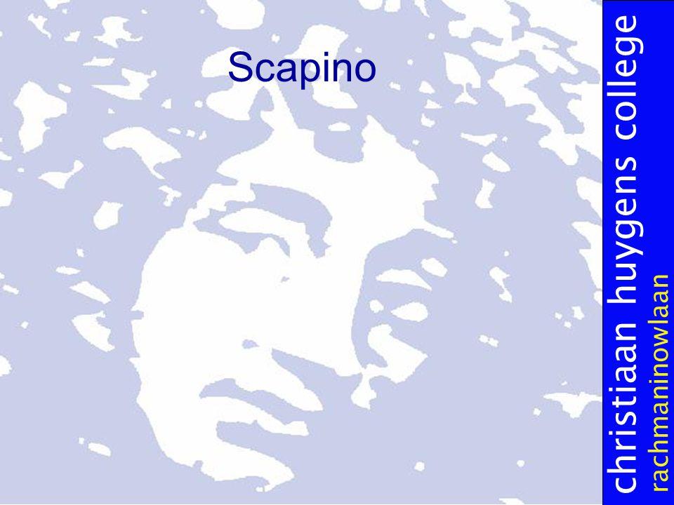 christiaan huygens college rachmaninowlaan Scapino