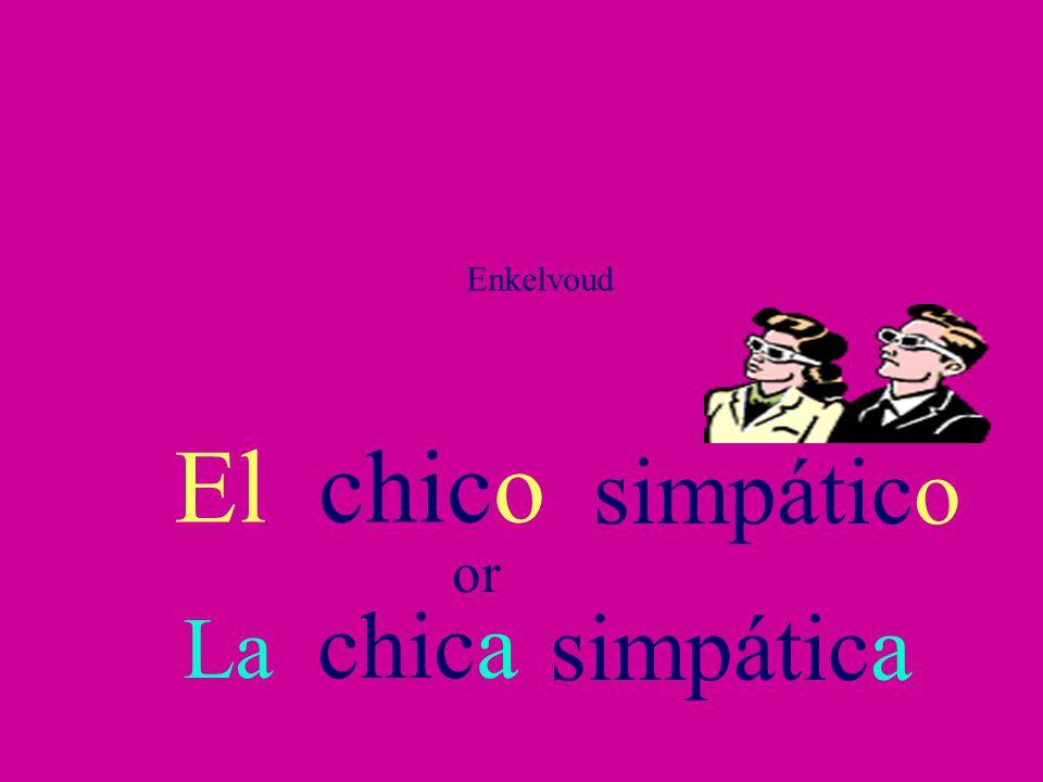 Adjectives in Spanish Los adjetivos en español