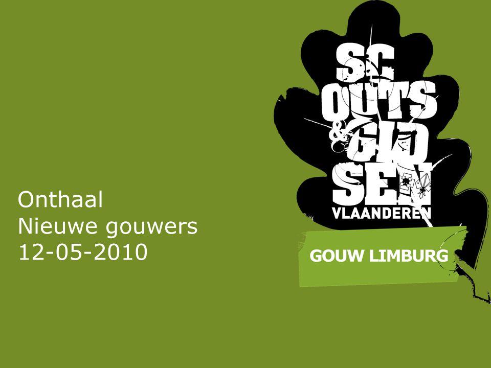 Onthaal Nieuwe gouwers 12-05-2010