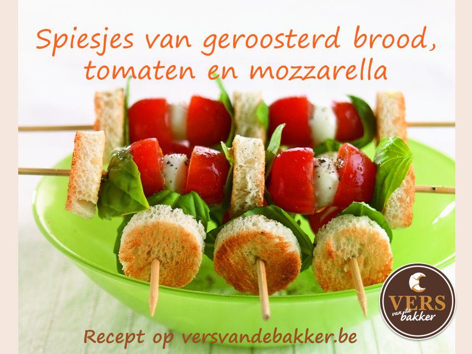 Bruschetta met vitello tonato Recept op versvandebakker.be