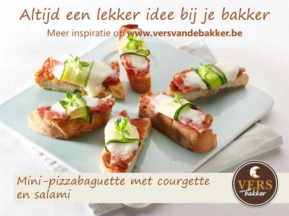 Altijd een lekker idee bij je bakker Meer inspiratie op www.versvandebakker.be Toast met geitenkaas en dip van gegrilde paprika's