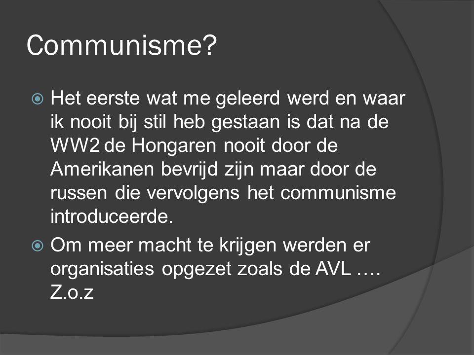 Communisme.