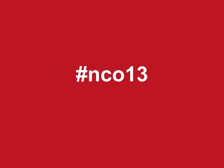 #nco13