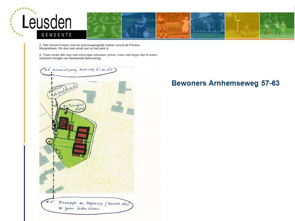 Bewoners Arnhemseweg 57-63