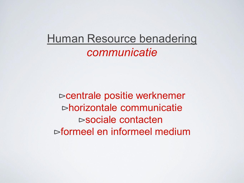Van verticale communicatie Naar horizontale communicatie.. Door de jaren heen..